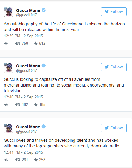 Gucci Mane's Autobiography Set To Released In 2016 # ...